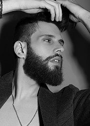 Nondas Kardas model (μοντέλο). Photoshoot of model Nondas Kardas demonstrating Face Modeling.Face Modeling Photo #224969
