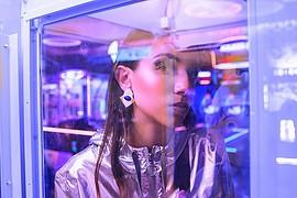 Nour Mahgoub model. Photoshoot of model Nour Mahgoub demonstrating Face Modeling.Face Modeling Photo #209021