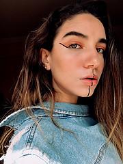 Nour Mahgoub model. Photoshoot of model Nour Mahgoub demonstrating Face Modeling.Face Modeling Photo #220717