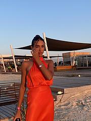 Nour Mahgoub model. Photoshoot of model Nour Mahgoub demonstrating Fashion Modeling.Fashion Modeling Photo #233594