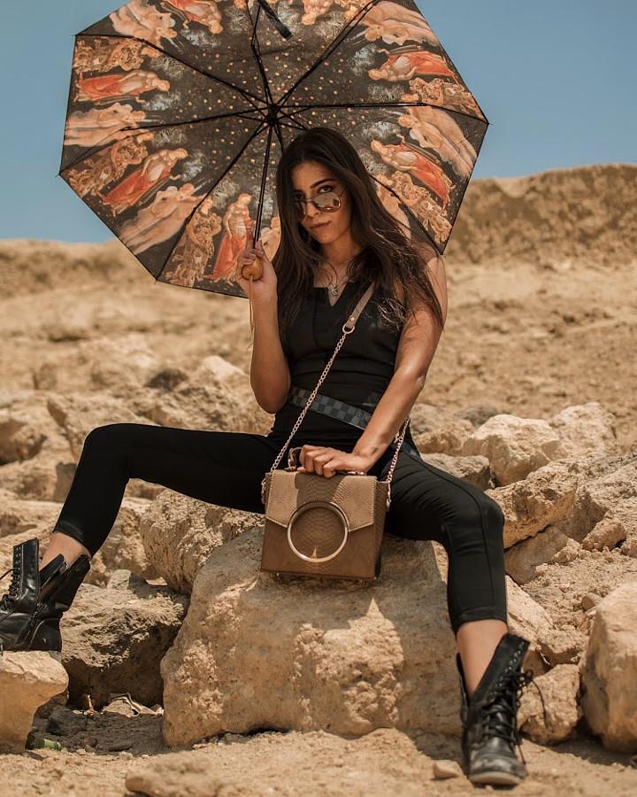 Nourhan El Nakhal fashion model. Photoshoot of model Nourhan El Nakhal demonstrating Fashion Modeling.Fashion Modeling Photo #219157
