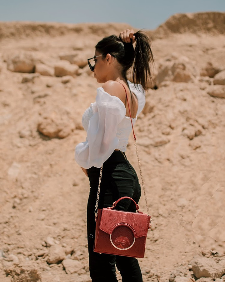 Nourhan El Nakhal fashion model. Photoshoot of model Nourhan El Nakhal demonstrating Fashion Modeling.Fashion Modeling Photo #219161