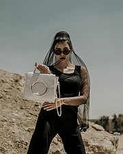 Nourhan El Nakhal fashion model. Photoshoot of model Nourhan El Nakhal demonstrating Fashion Modeling.Fashion Modeling Photo #219163