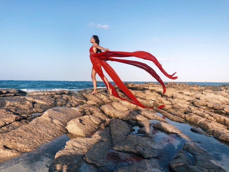 Nourhan El Nakhal fashion model. Photoshoot of model Nourhan El Nakhal demonstrating Fashion Modeling.Fashion Modeling Photo #219254
