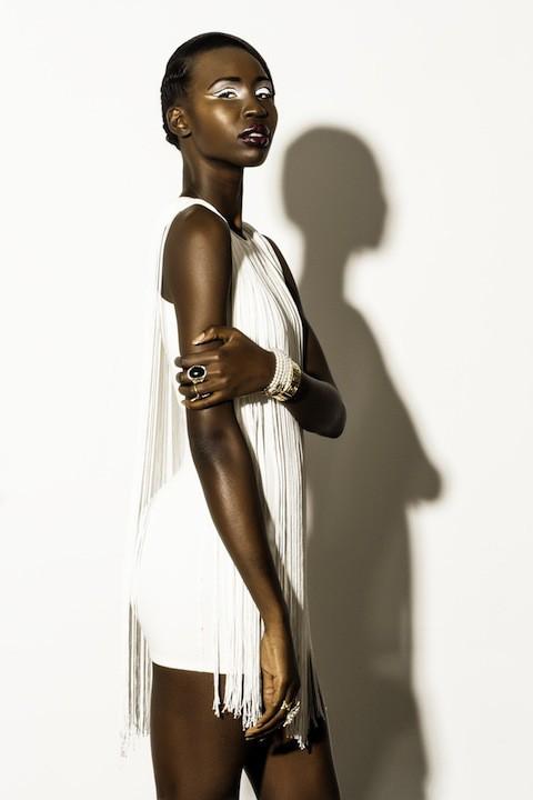 Nyawal Bukjok model. Photoshoot of model Nyawal Bukjok demonstrating Fashion Modeling.Fashion Modeling Photo #114244