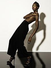 Nyawal Bukjok model. Modeling work by model Nyawal Bukjok. Photo #114246