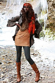 Nyawal Bukjok model. Photoshoot of model Nyawal Bukjok demonstrating Fashion Modeling.Fashion Modeling Photo #114254