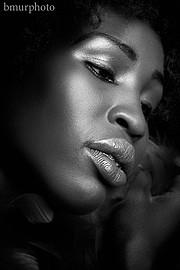 Nyawal Bukjok model. Photoshoot of model Nyawal Bukjok demonstrating Face Modeling.Face Modeling Photo #114256