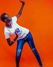 Nyayiena William model. Photoshoot of model Nyayiena William demonstrating Fashion Modeling.Fashion Modeling Photo #197318