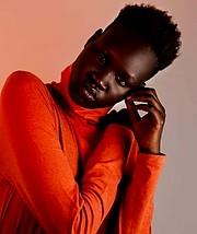 Nyayiena William model. Photoshoot of model Nyayiena William demonstrating Face Modeling.Face Modeling Photo #197321