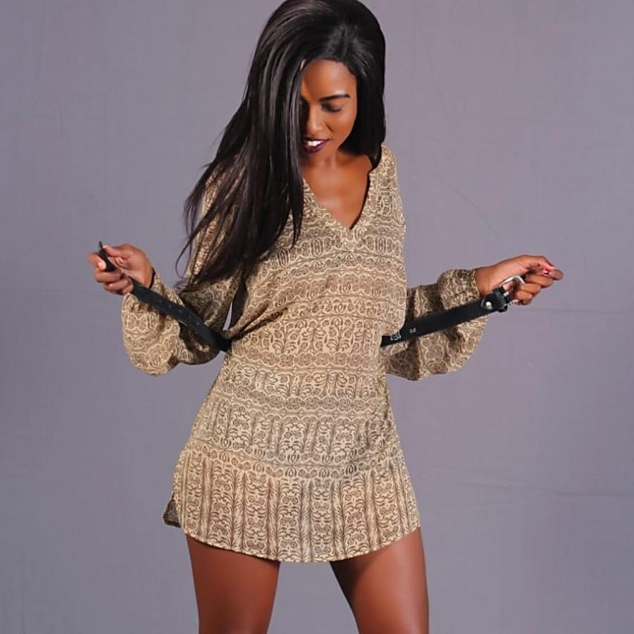 Oarabile Viginia model. Photoshoot of model Oarabile Viginia demonstrating Fashion Modeling.Fashion Modeling Photo #209880