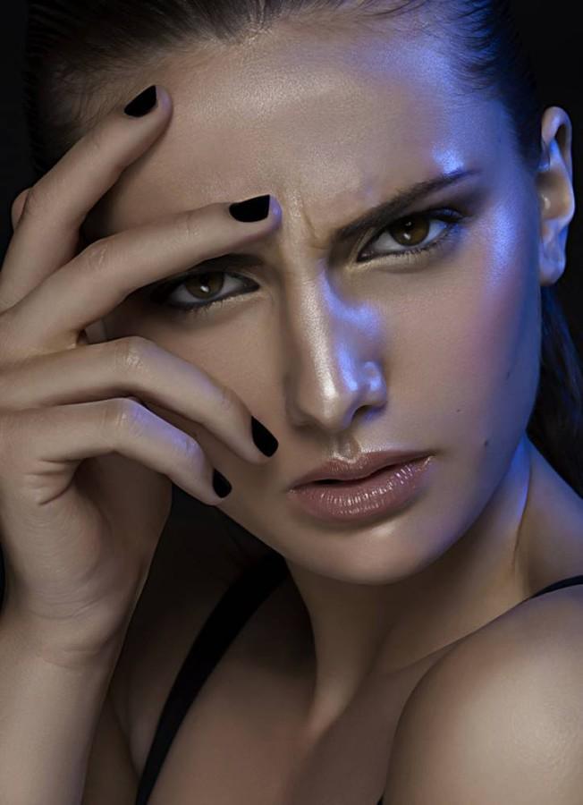 Wink Agency Sydney modeling agency, Oceana Strachan model. Photoshoot of model Oceana Strachan demonstrating Face Modeling.model Oceana StrachanFace Modeling,Women Casting Photo #118031