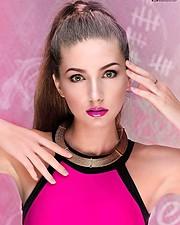 Olga Aleshicheva model (модель). Photoshoot of model Olga Aleshicheva demonstrating Face Modeling.Face Modeling Photo #175810