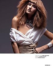 Olga Boyko model (modella). Photoshoot of model Olga Boyko demonstrating Face Modeling.Face Modeling Photo #95729