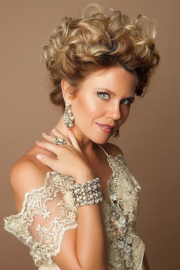Olga Rusan fashion designer (модельер). design by fashion designer Olga Rusan.Beauty Makeup Photo #60972