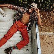 Olubayi Olubayi model. Photoshoot of model Olubayi Olubayi demonstrating Fashion Modeling.Fashion Modeling Photo #229683