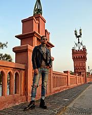 Omar Khaled Hussein model. Photoshoot of model Omar Khaled Hussein demonstrating Fashion Modeling.Fashion Modeling Photo #217018