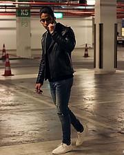Omar Khaled Hussein model. Photoshoot of model Omar Khaled Hussein demonstrating Face Modeling.Face Modeling Photo #217144