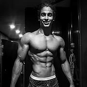 Omar Khaled Hussein model. Photoshoot of model Omar Khaled Hussein demonstrating Body Modeling.Body Modeling Photo #217133
