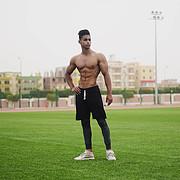 Omar Khaled Hussein model. Photoshoot of model Omar Khaled Hussein demonstrating Body Modeling.Body Modeling Photo #217134