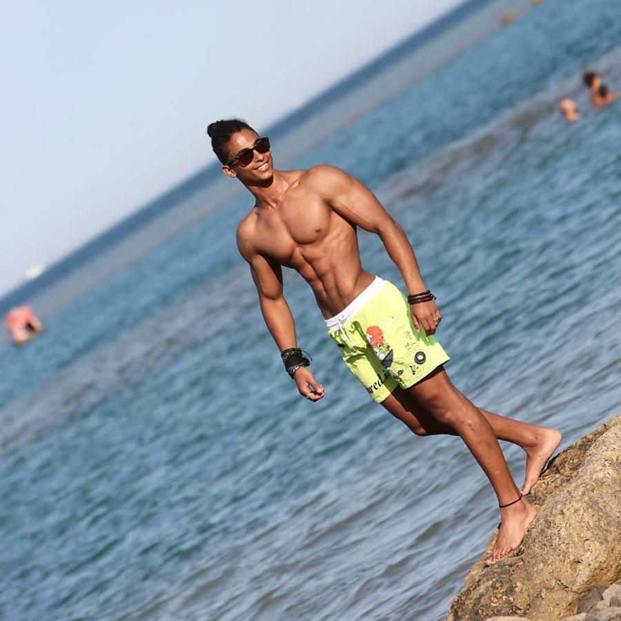 Omar Khaled Hussein model. Photoshoot of model Omar Khaled Hussein demonstrating Body Modeling.Body Modeling Photo #217141