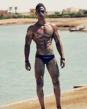 Omar Khaled Hussein model. Photoshoot of model Omar Khaled Hussein demonstrating Body Modeling.Body Modeling Photo #217146