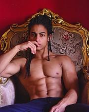 Omar Khaled Hussein model. Photoshoot of model Omar Khaled Hussein demonstrating Face Modeling.Face Modeling Photo #217149
