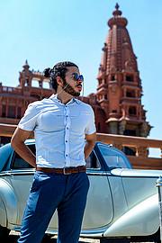 Omar Zahran model. Photoshoot of model Omar Zahran demonstrating Fashion Modeling.Fashion Modeling Photo #225546