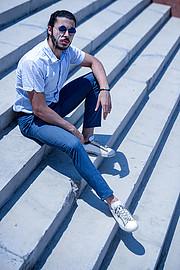 Omar Zahran model. Photoshoot of model Omar Zahran demonstrating Fashion Modeling.Fashion Modeling Photo #225547