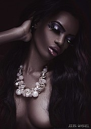 Onyeka Deborah model. Photoshoot of model Onyeka Deborah demonstrating Face Modeling.Face Modeling Photo #102654