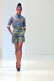 Onyeka Deborah model. Photoshoot of model Onyeka Deborah demonstrating Runway Modeling.Runway Modeling Photo #102666