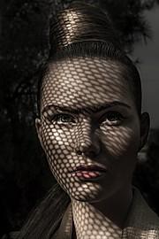 Oriada Bajrami model (μοντέλο). Photoshoot of model Oriada Bajrami demonstrating Face Modeling.Face Modeling Photo #177417