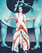 Oriada Bajrami model (μοντέλο). Photoshoot of model Oriada Bajrami demonstrating Fashion Modeling.Fashion Modeling Photo #186880