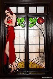 Osannda Hall model. Osannda Hall demonstrating Fashion Modeling, in a photoshoot by Tobias Fischer.photographer Tobias FischerFashion Modeling Photo #109205