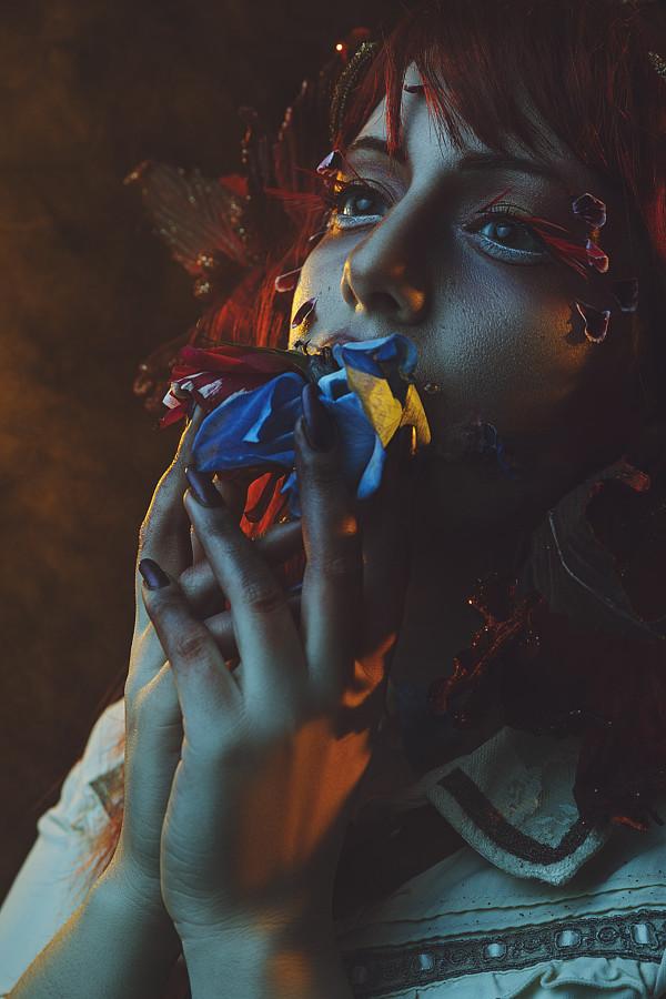 Panagiota Vasilopoulou makeup artist (Παναγιώτα Βασιλοπούλου μακιγιέρ). Work by makeup artist Panagiota Vasilopoulou demonstrating Creative Makeup.Creative Makeup Photo #230625