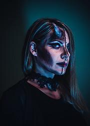 Panagiota Vasilopoulou makeup artist (Παναγιώτα Βασιλοπούλου μακιγιέρ). Work by makeup artist Panagiota Vasilopoulou demonstrating Special Fx Makeup.Special Fx Makeup Photo #230633