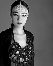 Panagiota Vasilopoulou makeup artist (Παναγιώτα Βασιλοπούλου μακιγιέρ). Work by makeup artist Panagiota Vasilopoulou demonstrating Beauty Makeup in a photoshoot by Eleni Ntouva with the model Jiannan Peng B.model: Jiannan Peng Bphotographer: Eleni