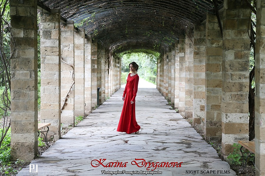 Panagiotis Limperopoulos (Παναγιώτης Λυμπερόπουλος) fashion photographer. Photoshoot of model Karina Dryganova Карина Дрыганова (Fashion Designer) demonstrating Fashion Modeling.Photo-Edit-Retouch By: Panagiotis LimperopoulosMua - Hair - Stylist: Е
