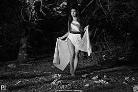 """Panagiotis Limperopoulos (Παναγιώτης Λυμπερόπουλος) fashion photographer. Photoshoot of model Katerina demonstrating Fashion Modeling.""""The Black Forest"""" ProjectPhoto-Edit-Retouch by:Panagiotis LimperopoulosLocation:Sanatorio Parnithas Copyright © P"""