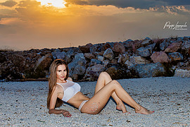 """Panagiotis Limperopoulos (Παναγιώτης Λυμπερόπουλος) fashion photographer. Work by photographer Panagiotis Limperopoulos demonstrating Body Photography in a photo-session with the model Xenia Davanelou.""""In Summer Mood""""Photo-Edit-Retouch By:Panagioti"""