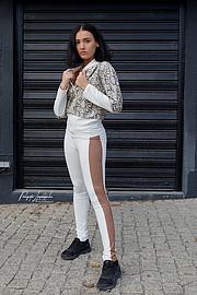 "Panagiotis Lymperopoulos (Παναγιώτης Λυμπερόπουλος) fashion photographer. Work by photographer Panagiotis Lymperopoulos demonstrating Fashion Photography in a photo-session with the model Ilia Thekla Touri.""In Street Style Mood""Model: Ilia Thekla T"