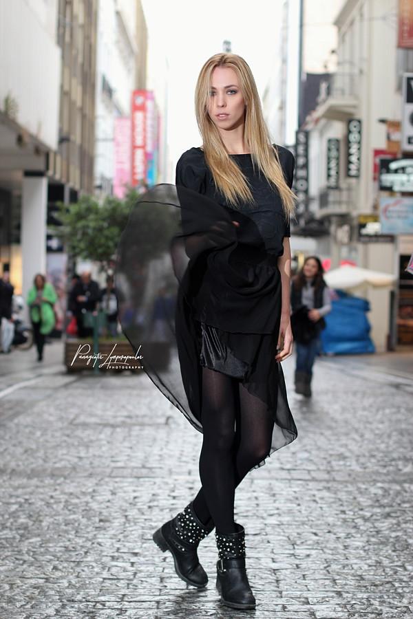 "Panagiotis Lymperopoulos (Παναγιώτης Λυμπερόπουλος) fashion photographer. Work by photographer Panagiotis Lymperopoulos demonstrating Fashion Photography in a photo-session with the model Catherine Kartakova.""Fashion Vibes In The Rain""Photographer:"