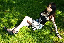 Patricia Absinthe model. Photoshoot of model Patricia Absinthe demonstrating Fashion Modeling.Fashion Modeling Photo #91330