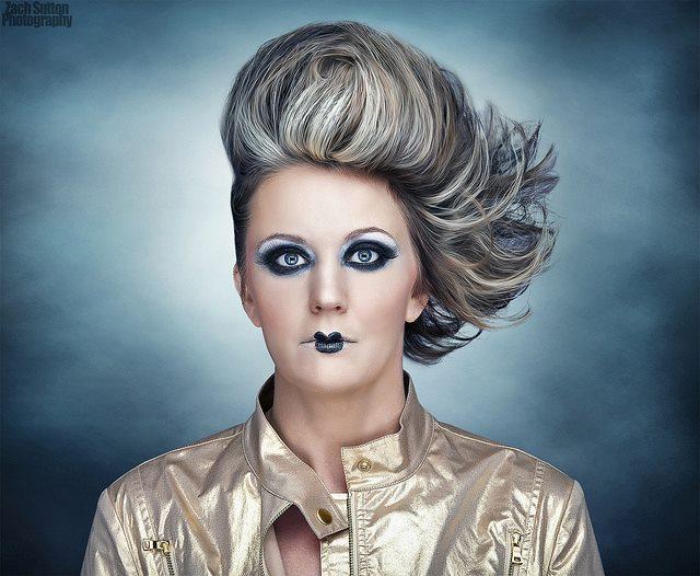 Patrycja Robakowska makeup artist (makijażysta). Work by makeup artist Patrycja Robakowska demonstrating Creative Makeup.Creative Makeup Photo #42665