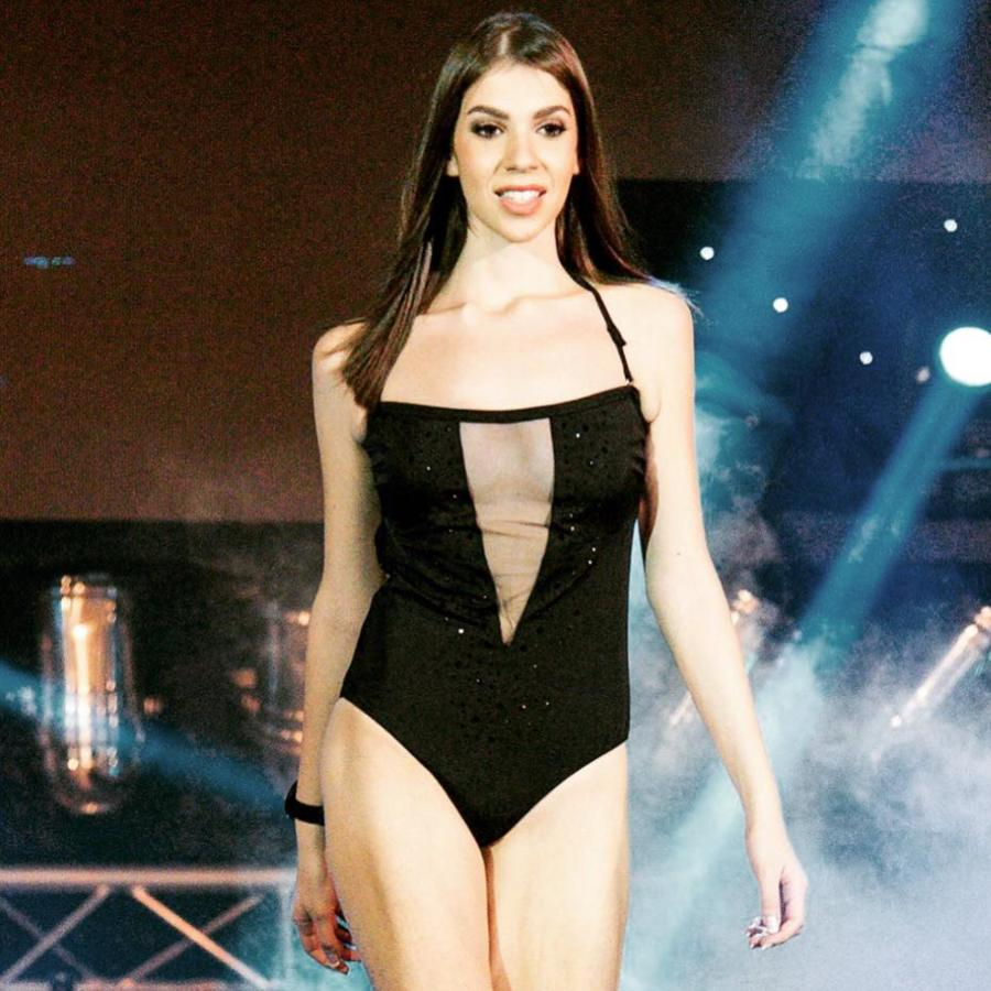 Pavlina Theodorou model. Photoshoot of model Pavlina Theodorou demonstrating Runway Modeling.Runway Modeling Photo #212548