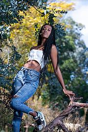 Peksie Makgatlha model. Photoshoot of model Peksie Makgatlha demonstrating Fashion Modeling.Fashion Modeling Photo #231705