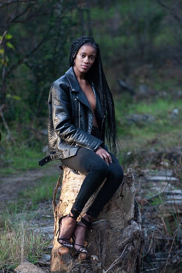 Peksie Makgatlha model. Photoshoot of model Peksie Makgatlha demonstrating Fashion Modeling.Fashion Modeling Photo #231706