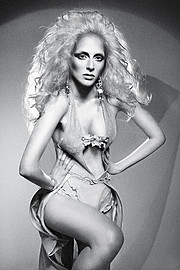 Peli Tricha model (μοντέλο). Photoshoot of model Peli Tricha demonstrating Fashion Modeling.Fashion Modeling Photo #175350