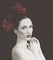 Peli Tricha model (μοντέλο). Photoshoot of model Peli Tricha demonstrating Face Modeling.Face Modeling Photo #175353