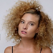 Penelope Heilmann model. Photoshoot of model Penelope Heilmann demonstrating Face Modeling.Face Modeling Photo #174926